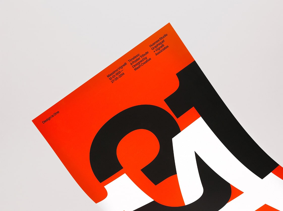 Massimo Vignelli Tribute